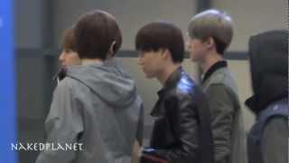 121201 EXO At Incheon Airport (인천공항)