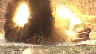 Замедленные выстрелы РПГ, пистолет, взрывы, стрельба по кевлару, различные Испытания