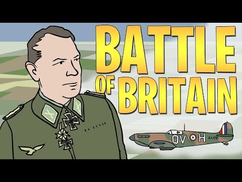 How was the Battle of Britain Won? | Animated History