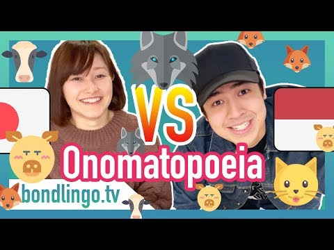 Onomatopoeia - Differences Of Animal Sounds Between Indonesian And Japanese (ft. Nihongo mantappu)