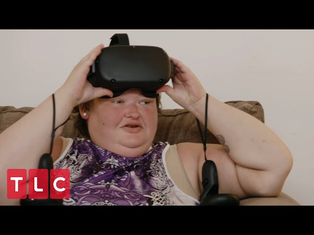 Amy Tries VR For the First Time | 1000-lb Sisters