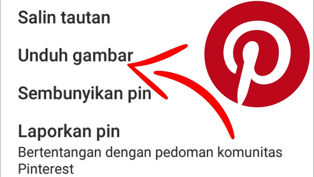 Cara Download Gambar Hd Di Pinterest Tanpa Aplikasi Youtube