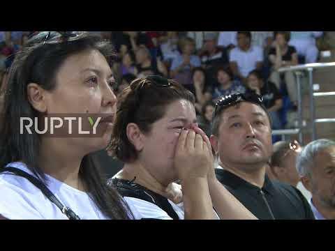 Kazakhstan: Funeral held in Almaty for slain Olympic figure skater Denis Ten