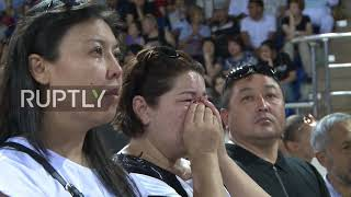 Kazakhstan: Funeral held in Almaty for slain Olympic figure skater Denis Ten