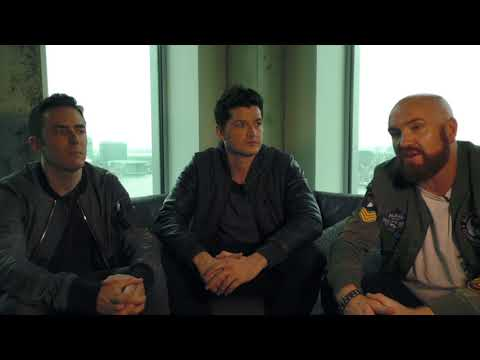 The Script interview - Danny, Mark & Glen