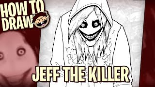 How to Draw JEFF THE KILLER (Creepypasta) | Narrated Easy Step-by-Step Tutorial