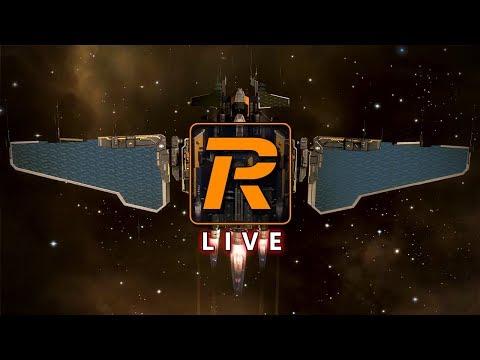 EVE Online Null Sec Exploration in Interceptor   LIVE