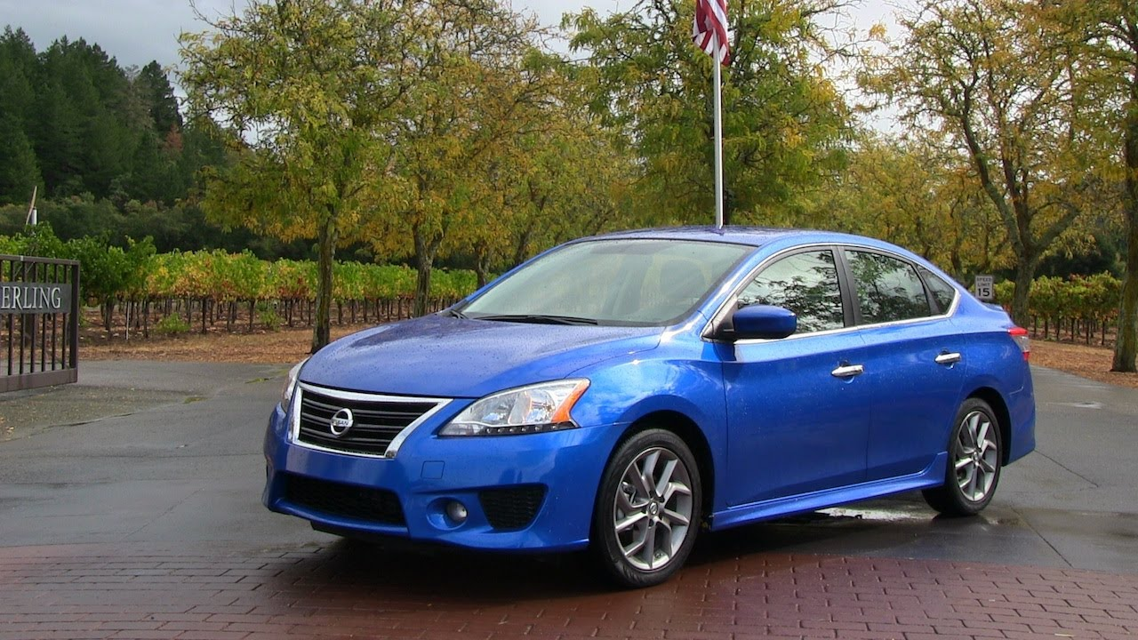 2013 Nissan Sentra 0 60 MPH First Drive U0026 Review   YouTube