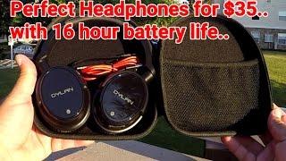 Dylan over ear Bluetooth Wireless Headphones - 16 Hour battery