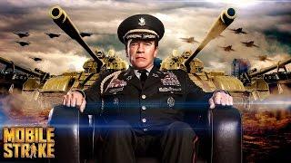 モバイルストライク【Mobile Strike】: Arnold Schwarzenegger アーノルド・シュワルツェネッガー Command Center CM thumbnail