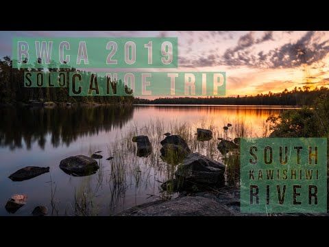 Boundary Waters Canoe Area Solo Camping September 2019 BWCA