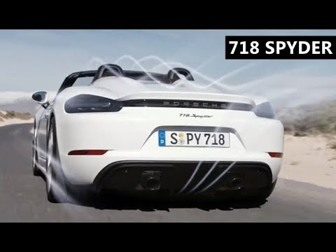 Porsche 718 Spyder (2019)