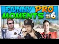 CS:GO - FUNNIEST PRO MOMENTS #6 FT. f0rest, pashaBiceps, GeT_RiGhT & More!