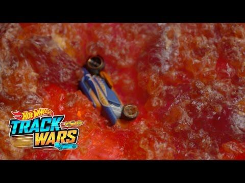 Behind the Scenes: Making Lava  Track Wars  Hot Wheels