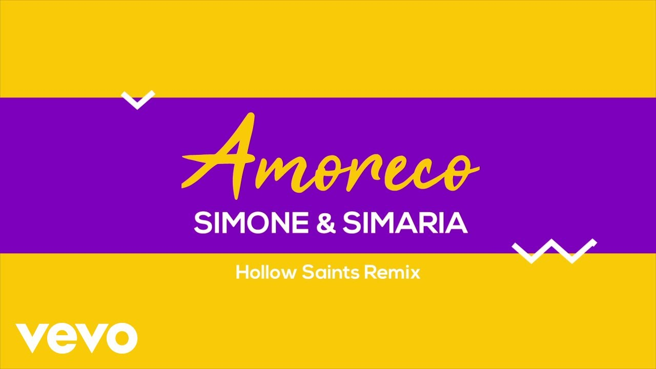 Simone & Simaria, Hollow Saints - Amoreco (Remix / Lyric Video)