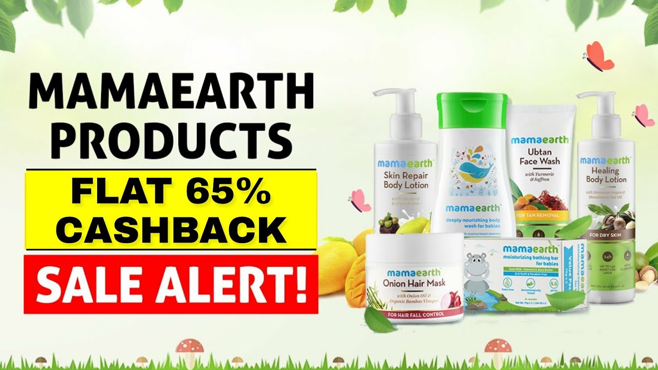 Mamaearth Sale: Biggest Discounts On Chemical Free Products   Mamaearth Products