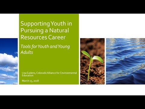 Supporting Youth in Pursuing a Natural Resources Career