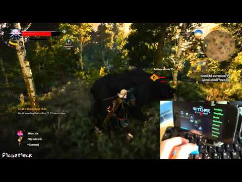 Witcher 3 PC Iphone app - homemade