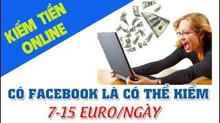Kiếm tiền online uy tín 7-15 EURO mỗi ngày