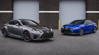 2020 Lexus RC F Track Edition And 2020 Lexus RC F Review Exterior, Interior And Drive