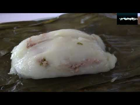 How to make steamed pork dumplings (qhob noom caub)