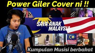 SKIL FULL !! POWER GILER COVER SAYA ANAK MALAYSIA VERSI METAL