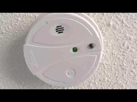 Kidde Smoke Alarm Red Light Flashing Youtube