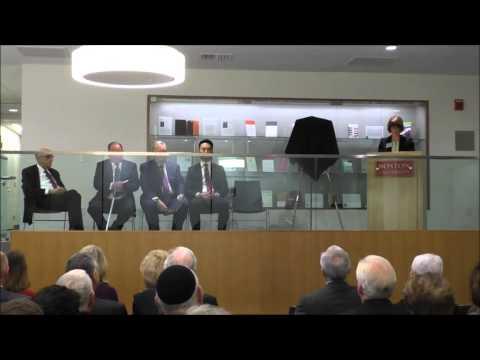 Boston University School of Law Dedicates Samuel M. Fineman Library
