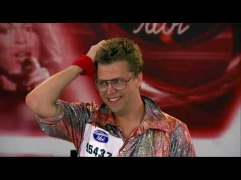 Nick Mitchell aka Norman Gentle Audition Season 8 American Idol