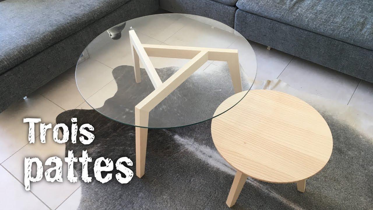 Fabrication De Tables Basses Gigognes Rondes