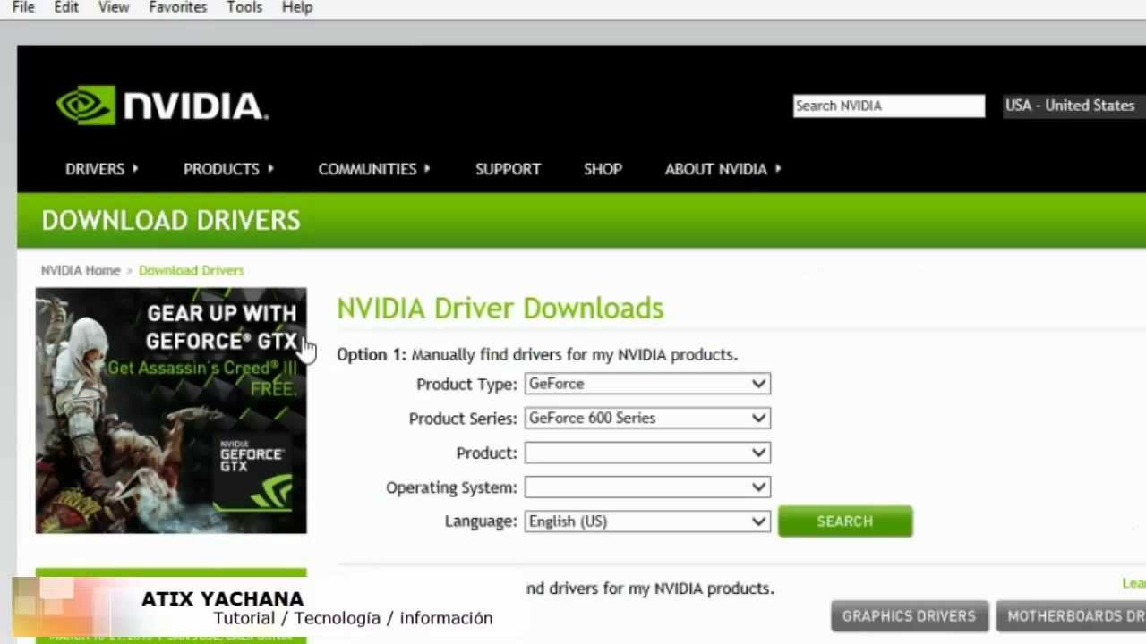 Nvidia Geforce 7400 Driver Download