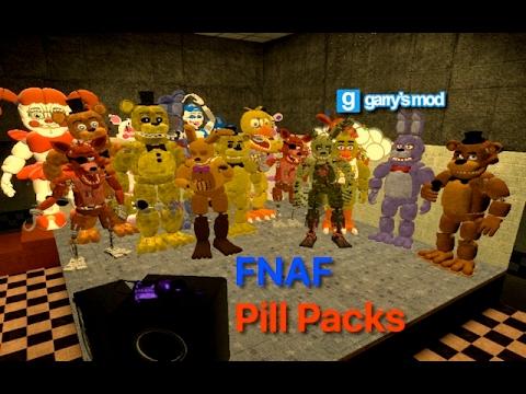 Fnaf Pill Packs