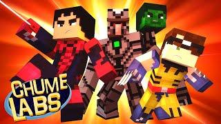 Minecraft: UM DIA DE SUPER-HERÓI! (Chume Labs 2 #17)