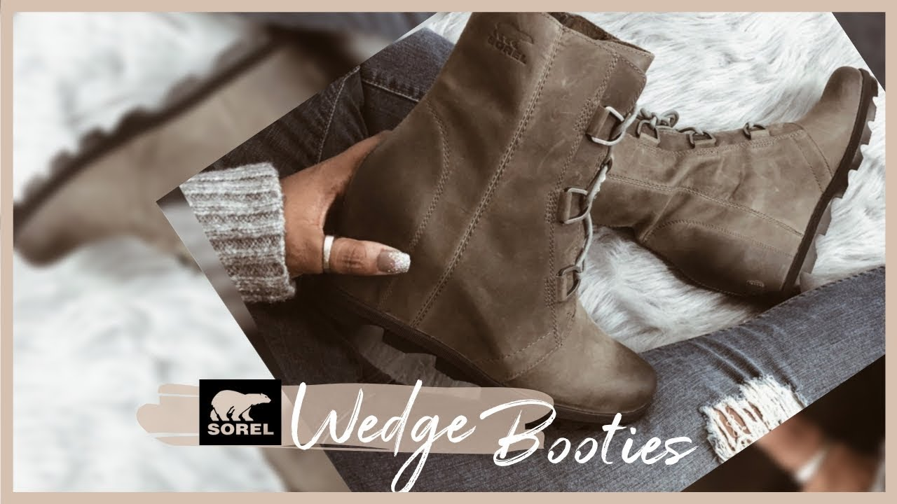 excellent quality best online separation shoes Sorel Joan of Arctic Wedge II   Review - YouTube