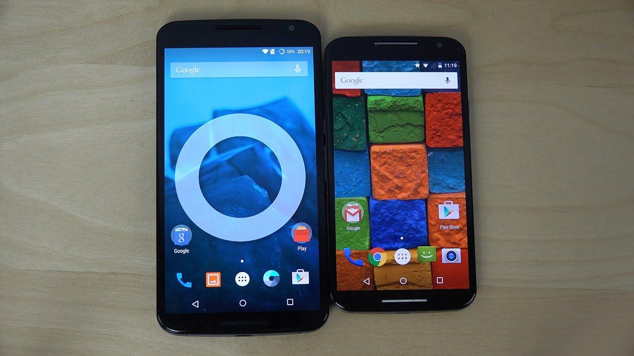 Nexus 6 vs. Motorola Moto X (2014) - Review (4K)