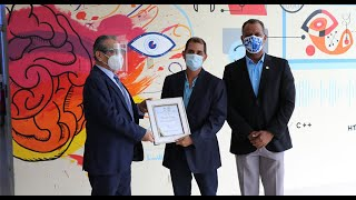 Inauguran murales de Ricardo Cerezo en la UTP-