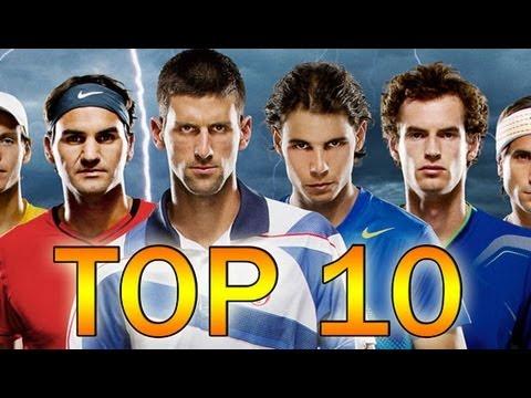 The best tennis players in the world 2013, TOP 10  - Novak Djokovic