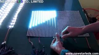 APA102 flexible led display, apa104 led display, apa102/apa104/apa105/apa107