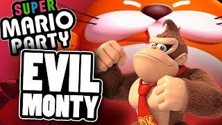 EVIL MONTY MOLE IN SUPER MARIO PARTY
