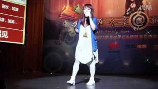 20110927 杭州搜狐音樂新聲力校園歌友會-徐佳瑩-懼高症