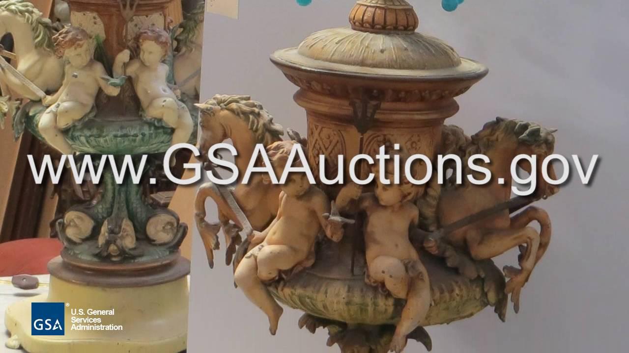GSA Auctions, Antique Furniture Sale - GSA Auctions, Antique Furniture Sale - YouTube