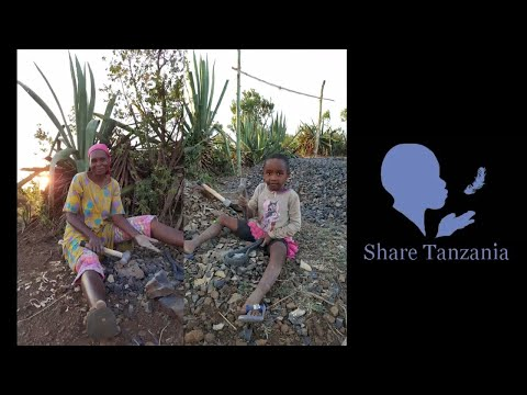 I found a 5 year old girl doing hard labour in a quarry... She and others, need our help...