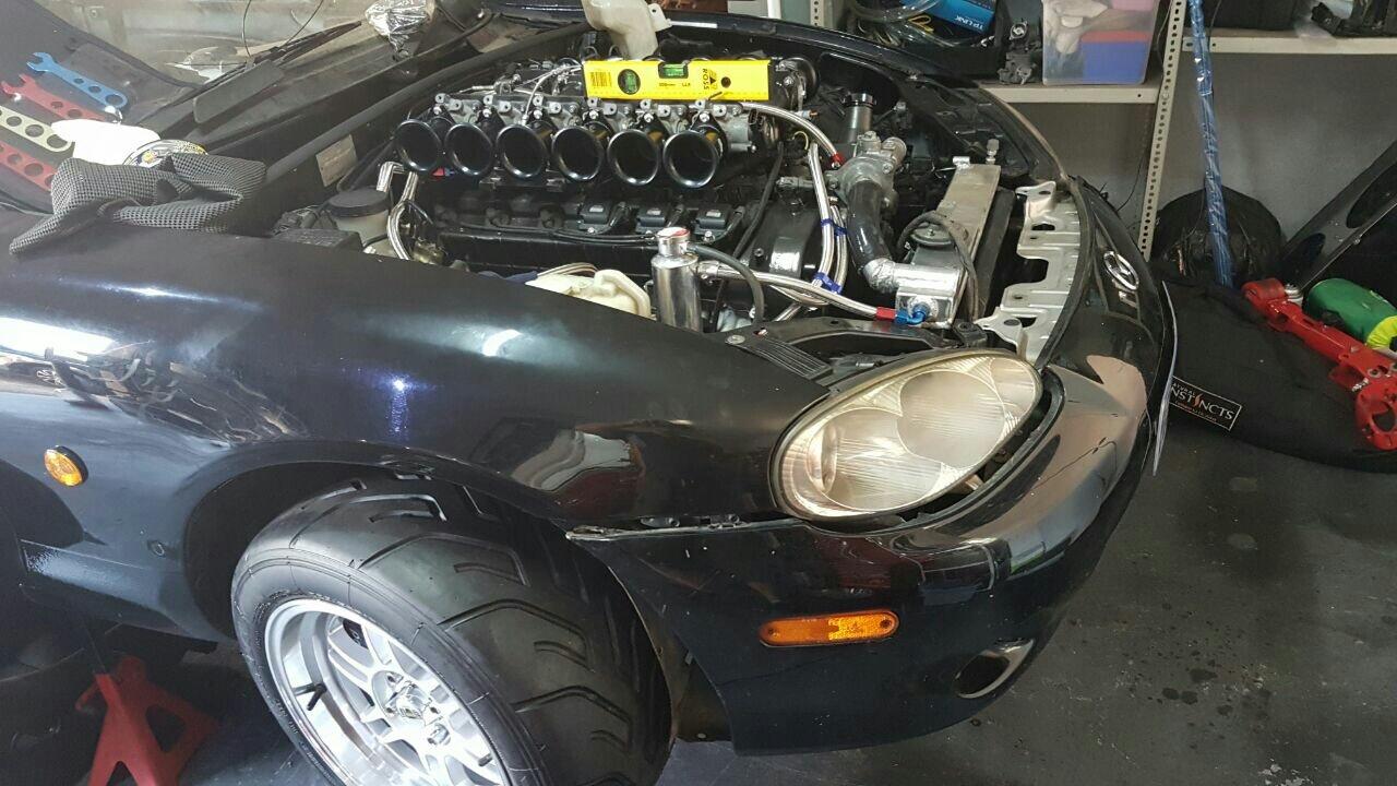 V12 Mazda Miata Swap Update