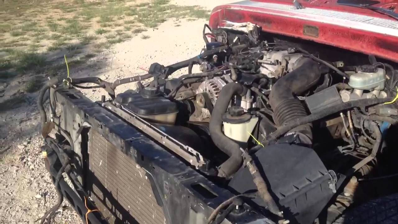 1963 F100 Full Crown Victoria Frame Swap Youtube