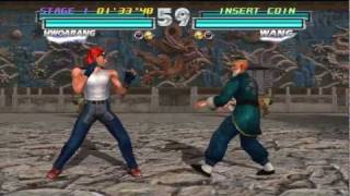 COTV - Tekken Tag Tournament Gameplay from Tekken Hybrid HD PS3