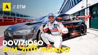 Dovizioso DTM Misano 2019 | Andrea ricordati che ha quattro ruote...