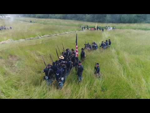 Civil War Battle Reenactment Union Gap Old Town Days 2017 copy