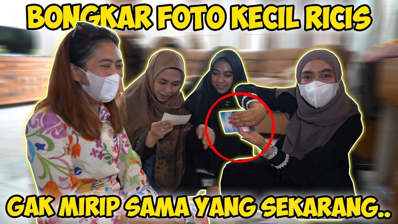 Liat Foto Kecil Ricis.. Gak Pake Hijab Bikin Maluuu wkw