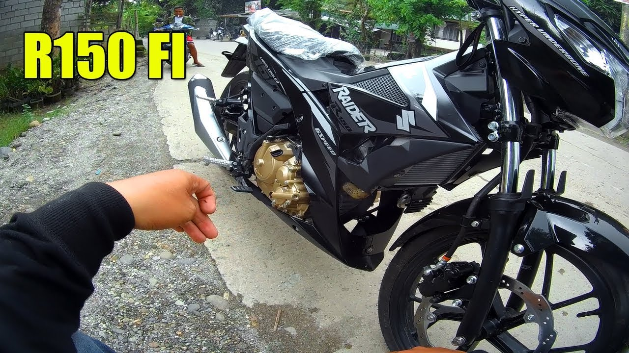 Raider 150 Fi Blue >> raider 150 fi first ride - YouTube