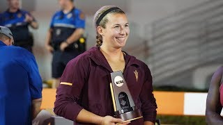 Samantha Noennig completes season sweep of NCAA shot put titles with crown in Austin